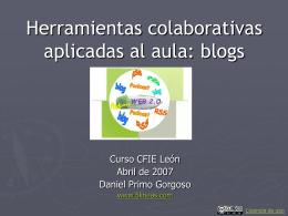Herramientas colaborativas en Educación Web2.0