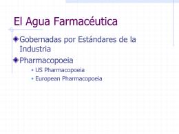 El Agua Farmacéutica
