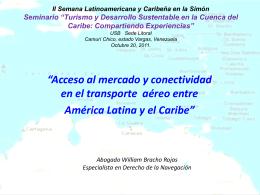 II Semana Latinoamericana y Caribeña en la Simón