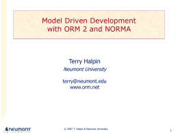 CS440 (Advanced Information Modeling) Lecture 1