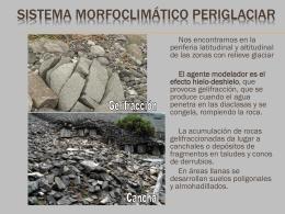 AGENTES GEOLÓGICOS EXTERNOS
