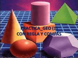 EJERCICIOS GEOMETRÍA - ETSI Caminos Canales y