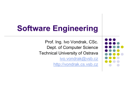 Software Engineering ver. 4