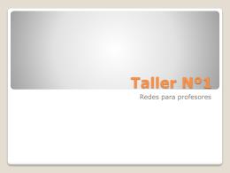Taller Nº1