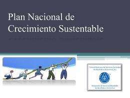 Plan Nacional de Crecimiento Sustentable