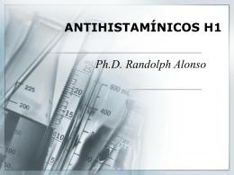 AGENTES ANTIHISTAMÍNICOS H1