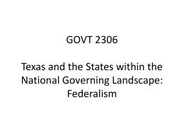 GOVT 2306 – 2