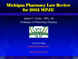 Pharmacy Law Review 2010