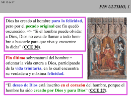 FIN ULTIMO, 1 - CAMINANDO CON JESUS