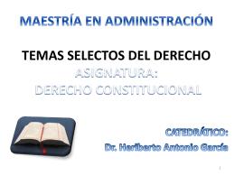 Diapositiva 1 - MAESTRÍA EN ADMINISTRACIÓN -