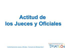 Diapositiva 1 - Federación Española de Triatlón -