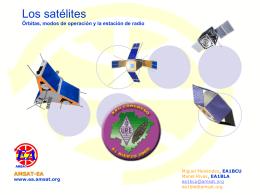 Los satélites… que nos llegan