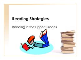 Helping Struggling Readers