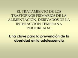 EL TRATAMIENTO DE LOS TRASTORNOS PRIMARIOS DE LA