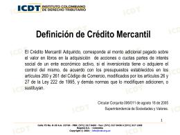 Presentación Dra. Nidia Patricia Narváez Mesa