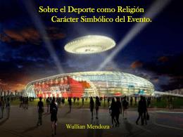 Sobre el deporte como Religión El carácter