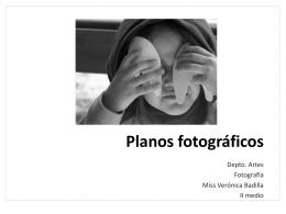 Planos fotográficos y Publicidad