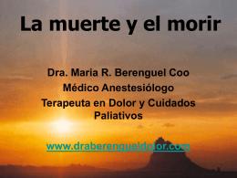 Diapositiva 1 - Dra. María Berenguel Cook