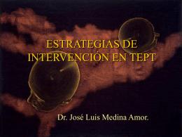 ESTRATEGIAS DE INTERVENCIÓN EN TEPT