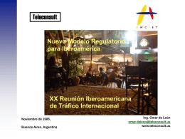 061127_XX Reuniión Iberoamericana de Tráfico