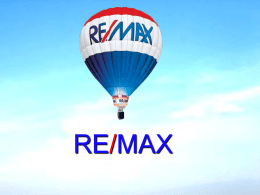 Diapositiva 1 - RE/MAX Mexico