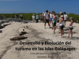 Desarrollo y Evolución del turismo en las Islas