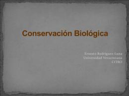 Conservación Biológica