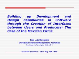 Diapositiva 1 - Globelics Academy