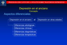 Depresión en el anciano Concepto