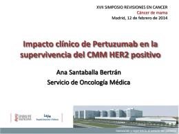 Impacto clínico de Pertuzumab en la supervivencia