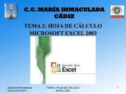 C.C. MARÍA INMACULADA CÁDIZ