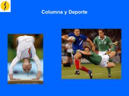 Columna y Deporte - COMITÉ OLÍMPICO ESPAÑOL