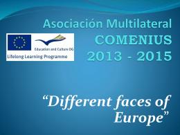 Asociación Multilateral COMENIUS 2013