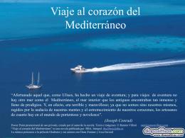 Viaje al corazón del Mediterráneo