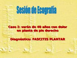 Sesión de ecografía