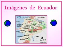 Ecuador en imágenes