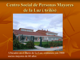 Centro Social de Personas Mayores de la Luz