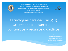 Tecnologías para e