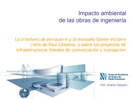 Impacto ambiental de las obras de ingeniería