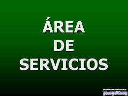 Área de servicios
