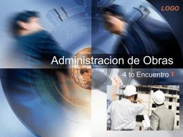 Administracion de Obras - Ing. Edson Rodríguez