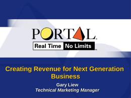 Portal Presentation Template