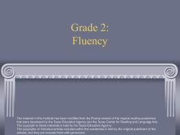 Grade 2: Fluency - Durham Public Schools`