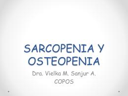 Sarcopenia - Consejo Panameño de Osteoporosis