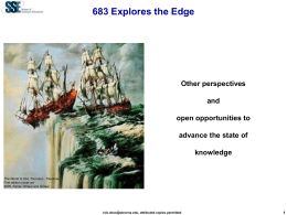SDOE 780 Engineering of Agile Systems and