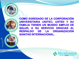 Diapositiva 1 - UNITEC | Corporación Universitaria