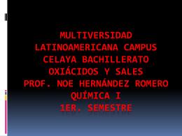 NUMERO ATOMICO - Villa Educación