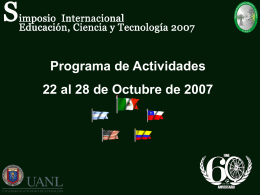 Diapositiva 1 - Facultad de Ingenieria Mecanica y