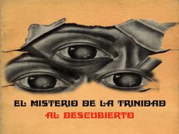 EL MISTERIO DE LA SANTÍSIMA TRINIDAD (al