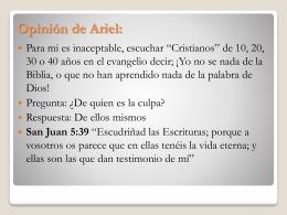 Opinión de Ariel: